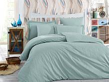 Семейный комплект постельного белья Sateen Diamond Stripe 160x220x2 (28873_сім.)