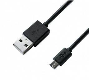 Кабель Grand-X USB-microUSB, 1м, 2.1 A, Cu, Black (PM01B), упаковка - гифтбокс з вікном, фото 2