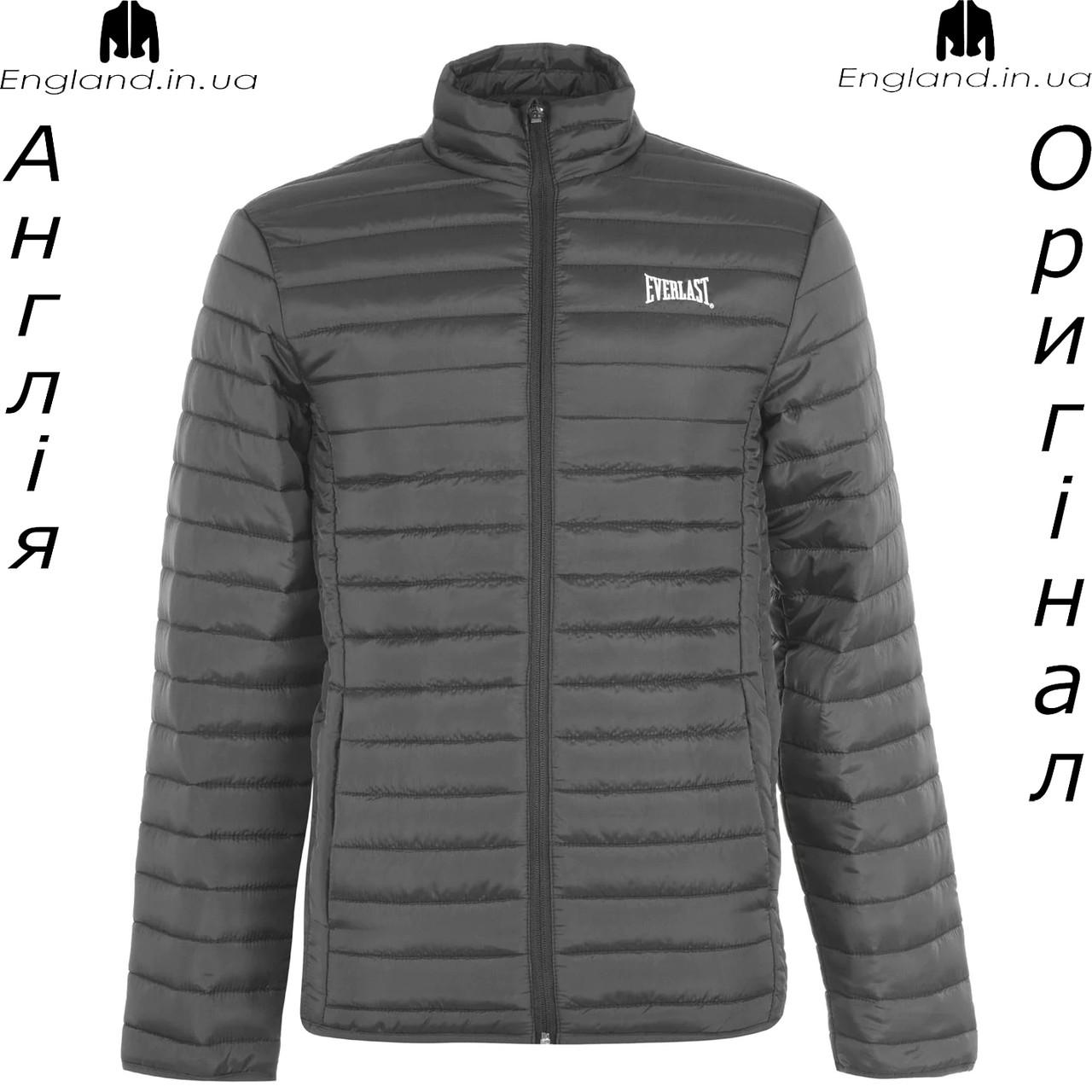 Куртка мужская Everlast из Англии - стеганая осень/весна