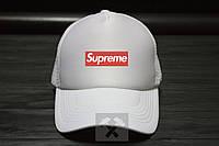Мужская кепка Суприм, спортивная кепка Supreme, летняя кепка с сеткой