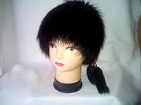 Женская зимняя меховая шапка