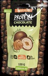 Протеиновое драже CHIKALAB  Фундук в Шоколаде (120 грамм)