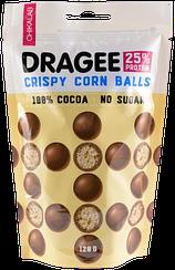 Протеиновое драже CHIKALAB Шарики Кукурузные  в Шоколаде (120 грамм)