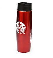 Термос Starbucks 500 мл металлический YSB-Q06 Красный