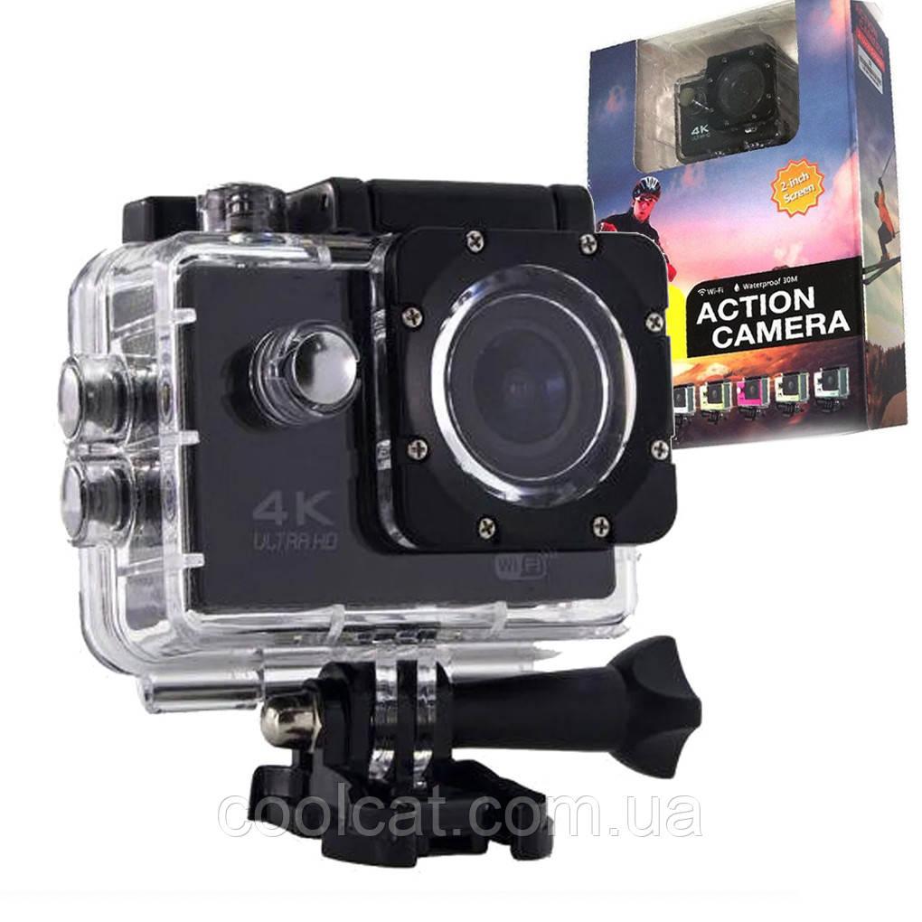Экшн камера 4K - 16 Мп, водонепроницаемая - DVR SPORT S2, Wi Fi
