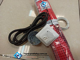 Для электрического теплого пола двужильный нагревательный мат FLEX EHM  - 6 м.кв (1050 вт) Серия RTC 70.26