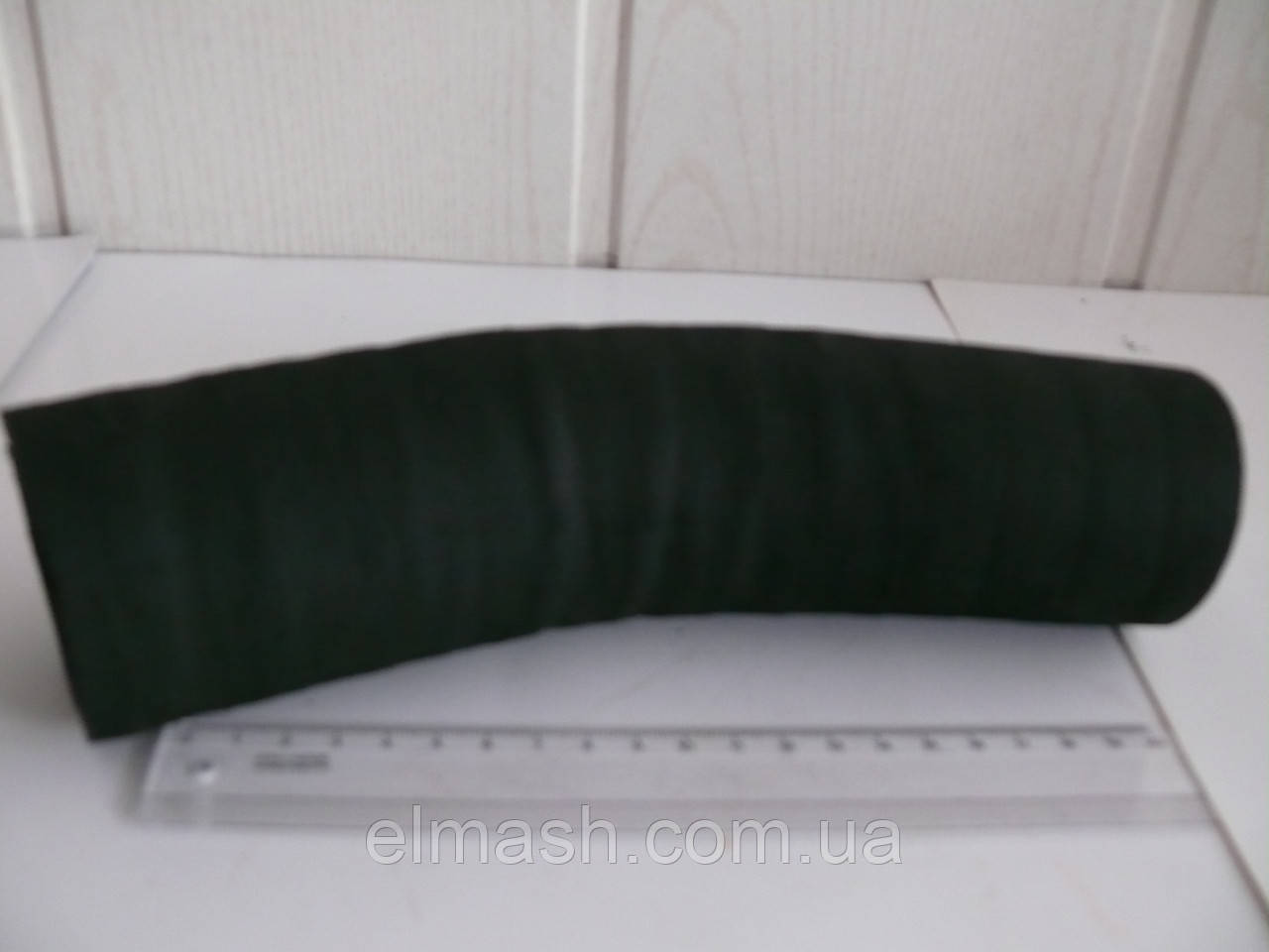 Рукав радиатора верхн. подводящ. d 58(13+6+изгиб) КАМАЗ (пр-во БРТ)