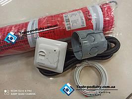Двужильный нагревательный мат мощность в 175W/m2  теплый пол FLEX EHM - 1м.кв  (175.0 вт) Серия RTC 70.26