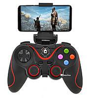 Беспроводной Bluetooth джойстик Gen Game V8 Black/Red (7211)