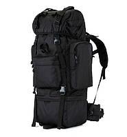 Тактический военный рюкзак каркасный Defcon 65 л Оригинал Black (9641)