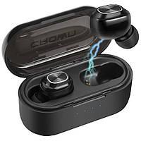 Бездротові навушники Crown CMTWS-5007 Black (TWS Bluetooth V5.0) внутриканальные