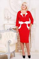 """Женское платье большого размера """"Лили"""""""