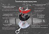 Капа OPRO Gold Braces UFC Hologram Black Metal/Silver (art.002262001)Чорно/Сірий, фото 9
