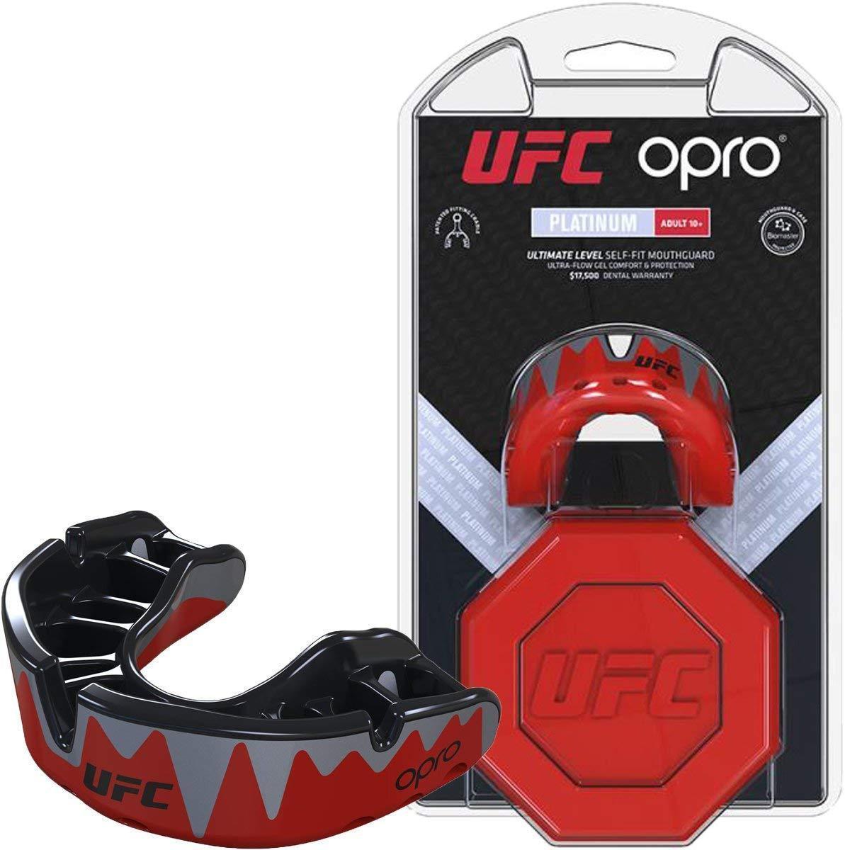 Капа OPRO Platinum UFC Hologram Red Metal/Black (art. 002261001)Червоно-Чорний