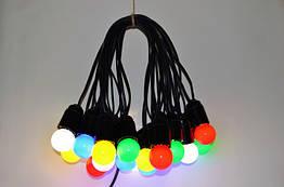 Уличная гирлянда Retro Light 30 м на 61 лампочек LED Цветные с влагозащитой IP22 bus30S, КОД: 1754816