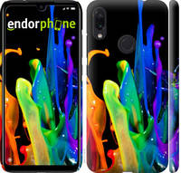 "Чехол на Xiaomi Redmi Note 7 брызги краски ""3957c-1639-39839"""