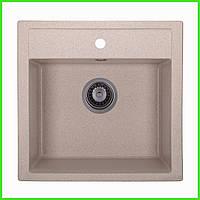 Кухонная гранитная мойка AQUA Terra / кухонна гранітна мийка 505/500/200