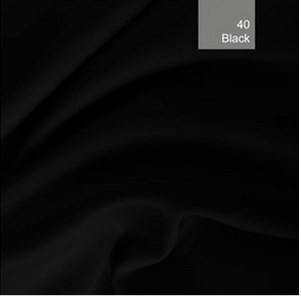 Ткань блэкаут (blackout). Черный цвет. Польша