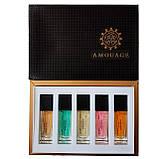 Подарочный набор мини-парфюмов Amouage for women 5 по 15 мл, фото 2