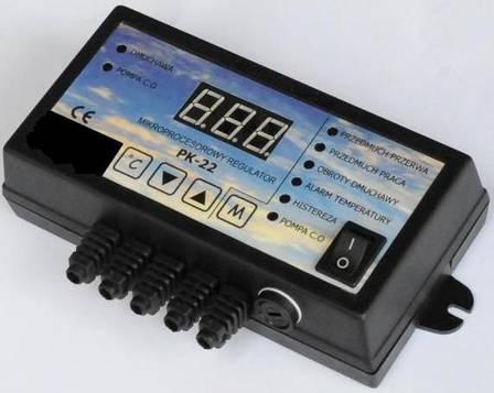 Автоматический контролер Польского производства для твердотопливных котлов Nowosolar PK-22, фото 2