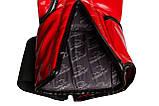 Боксерські рукавиці PowerPlay 3017 Червоні карбон 10 унцій, фото 3