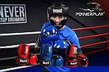 Боксерські рукавиці PowerPlay 3017 Червоні карбон 10 унцій, фото 7