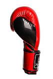Боксерські рукавиці PowerPlay 3017 Червоні карбон 10 унцій, фото 8
