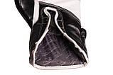 Боксерські рукавиці PowerPlay 3019 Чорні 14 унцій, фото 3