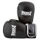Боксерські рукавиці PowerPlay 3019 Чорні 14 унцій, фото 6