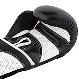 Боксерські рукавиці PowerPlay 3019 Чорні 14 унцій, фото 7