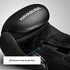 Боксерські рукавиці Hayabusa S4 - Чорн 12oz (Original), фото 4