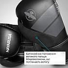 Боксерські рукавиці Hayabusa S4 - Чорн 12oz (Original), фото 7