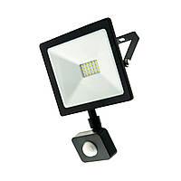 Led прожектор Z-light 220-240V 20W6400К IP65 ZL4126 с датчиком движения