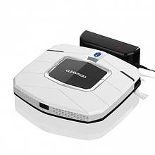 Робот-пылесос CLEANmaxx Slim Design 100 минут беспрерывной работы Германия белый (УЦЕНКА)