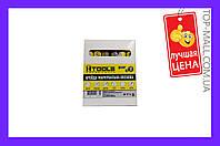 Мел восковой Housetools - 100 мм, красный (12 шт.)|артикул-14K832