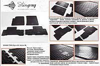 SsangYong Kyron 2008+ гг. Резиновые коврики (4 шт, Stingray Premium)