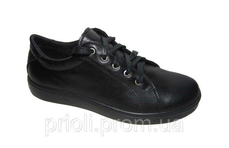 Подростковые кожаные туфли оптом