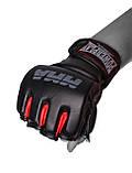 Перчатки для MMA PowerPlay 3053 Чорно-Червоні S/M, фото 2