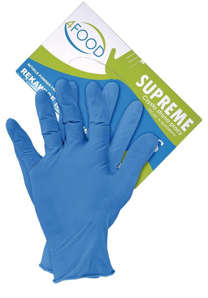 Рукавички нітрилові робочі MERCATOR MEDICAL RNIT-SUPREME N