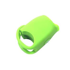 Звонок электронный велосипедный West Biking 0706041 Green универсальный громкий сигнал для велосипеда гудок, фото 2