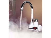 Проточный водонагреватель с экраном