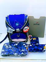 DerDieDas немецкий ортопедический ранец премиум с наполнением  Switch Patch Паук для мальчика