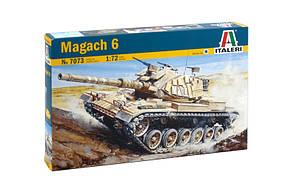 MAGACH 6. Сборная модель танка в масштабе 1/72. ITALERI 7073