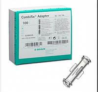 Комбификс (Combifix) адаптер коннектор female/female для соединения 2 шприцев луер лок (100шт в упаковке)