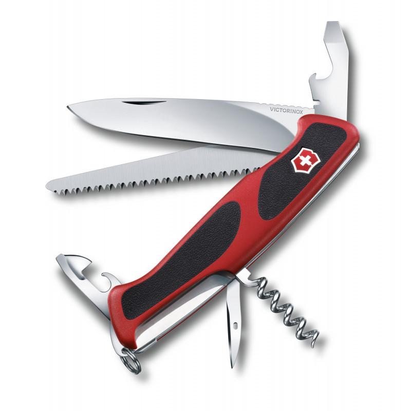 Раскладной нож Викторинокс Ranger Grip 55, 130мм/12функций, Швейцария