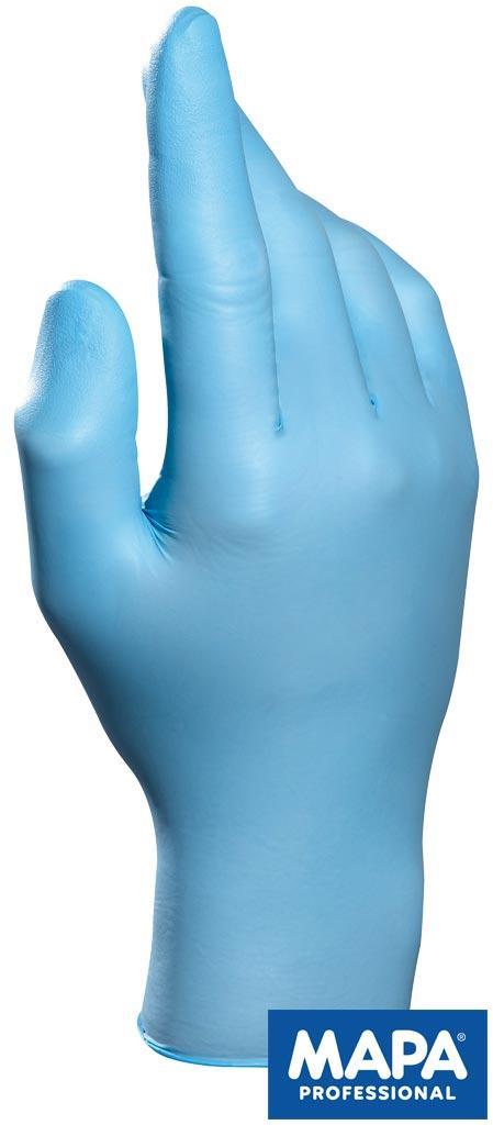 Перчатки нитриловые рабочие Mapa RSOLO997 N