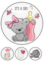 Вафельная картинка Beby Мишка