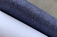 Фоамиран глиттер 20 х 30, 10 л/уп., темно-синий чернильный синий, фото 1