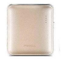 Портативное зарядное устройство Proda Mink PPL-21 5000mAh Gold 206703, КОД: 1379033