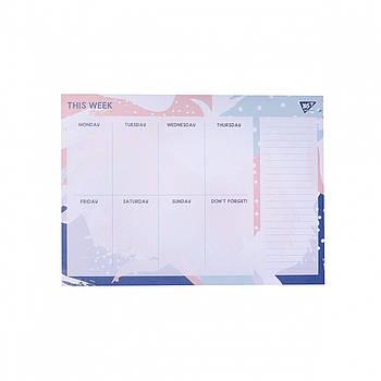 Планинг настольный с открывными листами YES CALMA 290х210мм 52 листа (170266)